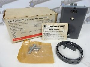 Honeywell La409a 1107 Surface Aquastat 60 200f Makes On Temp Fall new In Box