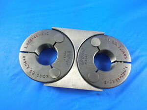 1 062 48 Ns 3 Thread Ring Gages 1 0620 Go No Go P d s 1 0485 1 0448 Tooling