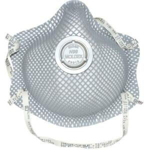 Moldex 2310n99 Premium Particulate Respirator Half face Mask Medium large 10 pk