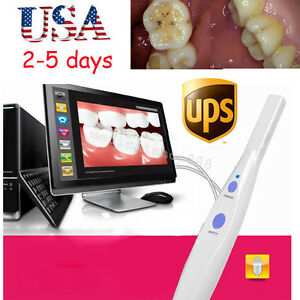 Ce Dental Intraoral Oral Camera 5 0 Mp 1 4 Cmos Clear Imaging Software Us Stock