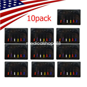 10x Us Stock Dental Dentist Endodontic Niti Rotary Files Hand Use Root Canal Fda