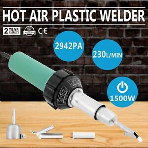 1500w Hot Air Torch Plastic Welding Gun Welder Pistol Kit Heat Gun Flooring To