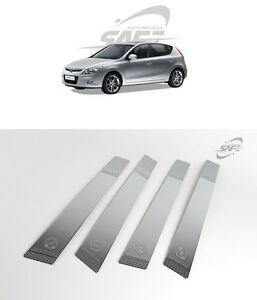 Safe Chrome B Pillar Molding 4pcs For Hyundai Elantra Touring I30 2007 2011