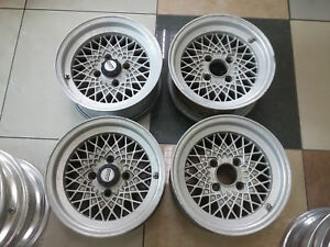 Jdm Bbs Mahle Mesh 14 Rims Wheels For Ae86 Ta22 Datsun Ke70 Dx114 3x4 Rs Lm