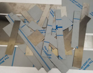 Stainless Steel Sheet Metal Scrap 15 Lbs Pounds Drop Junk small