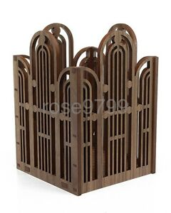 Frank Lloyd Wright Laser Cut Wood Marin County Civic Center Pencil Pen Holder