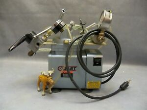Vacuum Pump Doa p704 aa Gast High capacity W Pressure Switch Gauge