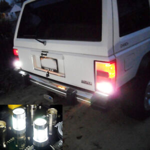 Led Reverse Backup Light 80w High Power White 6000k Hid For Jeep