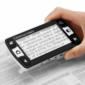 Portable 4 3 Inch Digital Video Magnifier With Led Indicator Foldable Standgg