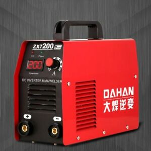 220v 4800w Dc Electric Welding Machine Small Household Inverter Zx7 200d