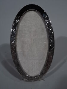 Deitsch Frame 118 Picture Photo Antique Oval American Sterling Silver