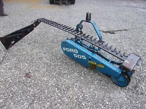 Ford 505 Sickle Mower 7 Ft 3 Point We Ship Real Cheap And Real Fast