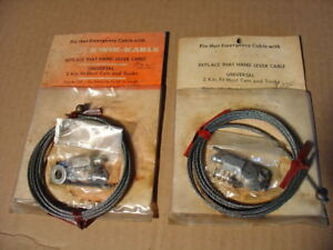 Vintage Thexton Emergency Parking Brake Cable Ford Chevy Falcon Fits Cars Trucks