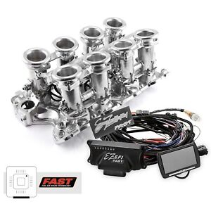 Big Block Ford 460 Polished Downdraft Fast Ez efi 2 0 Fuel Injection System