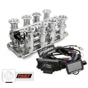 Small Block Ford 302 Polished Downdraft Fast Ez Efi 2 0 Fuel Injection System