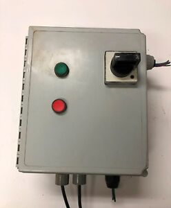 Hoffman Fiberglass Enclosure With Transformer And More See Details Loc 104b