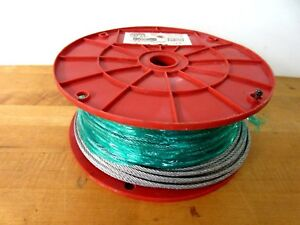 Duro Dyne 30204 Wc 4 1 8 Wire Rope Cable 500 Ft 340 Lb Work Load
