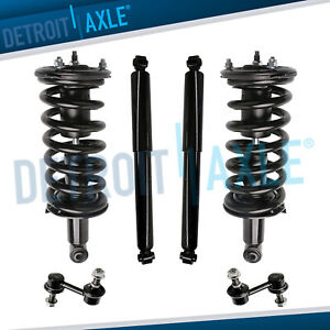 Nissan Titan Struts Assembly Shock Absorbers Sway Bars For Front Rear 2wd