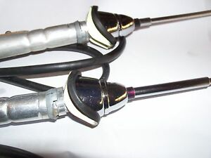 1956 Dodge plymouth 57 59 Desoto chrysler Dual Rear Antennas New Mopar