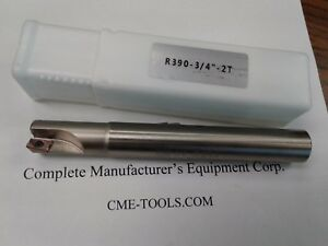 3 4 90 Degree Indexable End Mill 3 4 x3 4 x6 Sandvik R390 11t308 506 sdvk 034