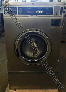 Dexter Wcvd18kcs 12 T 300 Washer 18lb Coin 220v 1 3ph Reconditioned