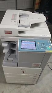 Canon Imagerunner Ir 3245i Copier Printer Network W inner Stapling Finisher
