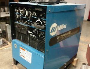 Miller Syncrowave 250 Tig Welding Power Source 11 4kw W Foot Pedal Rfcs 14