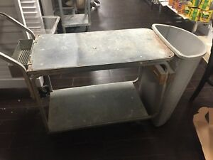 Commercial Utility Push Cart Industrial Janitorial Maintenance