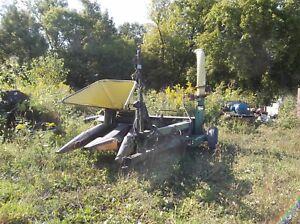 John Deere 35 Silage Chopper Forage Harvester With Hay And 2 Row Corn Head