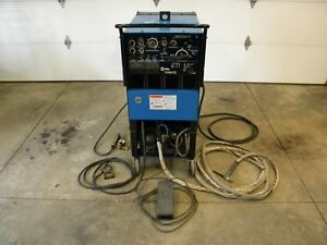 Miller Syncrowave 250 Ac dc Package W cooler Excellent Shape Light Use