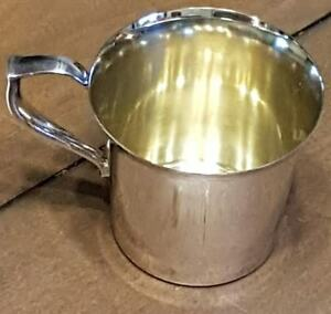 Wallace Silver Plate Baby Cup Not Engraved Punch Bowl