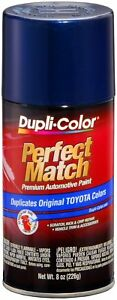 Duplicolor Dark Blue Pearl Toyota Touch up Paint Code 040 8 Oz Ebty16237