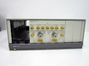 Hp Agilent 85110l 2 Ghz Pulsed Rf S parameter 70001a Test Set With Option K08