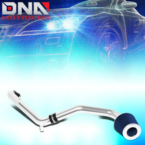 For 1996 2000 Honda Civic Cx dx lx High Flow Cold Air Intake System blue Filter