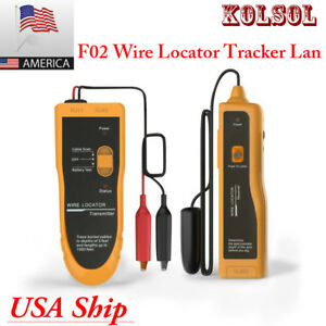 Usa Shipping Kolsol F02 Underground Cable Wire Locating Tracking Buried Wire