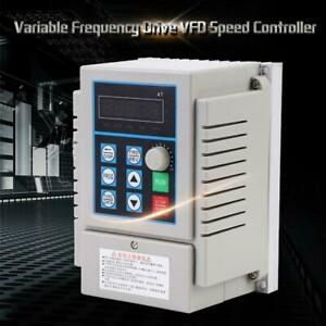 Ac220v Single phase Variable Frequency Drive Vfd Speed Controller 0 45kw Motor