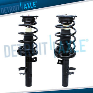 2 Front Strut Coil Spring For 2012 2013 Ford Focus 2 0l Automatic Transmission