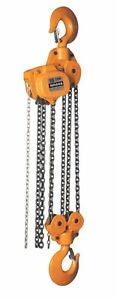 Magna Chain Hoists 1 2 1 2 3 5 10 Ton Capacities W 10 15 20 Falls