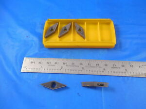 5 Pcs New Kennametal Vbmt331 Lf Kc5010 Carbide Turning Inserts Tialn Coated