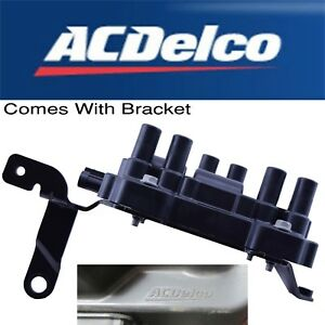 New Ac Delco Chevy Gmc Ignition Coil V6 3 4l 3 5l 3 9l 4 3l 12595088 Uf 434