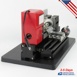 Craftsman Metal Lathe Motorized Mini Wood Lathe Machine Woodworking Diy Hobby Us