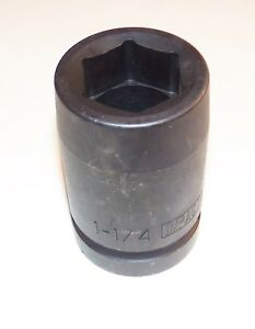 1 1 4 Inch Armstrong Usa 1 Inch Drive 6 Point Deep Impact Socket