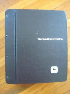 John Deere 2350 2550 Tractor Technical Manual Tm 4403