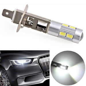 Dc 12v 5630 Smd 10 Led H1 Halogen Car Lamp Fog Driving Light Lamp Bulb Gut