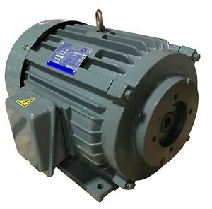10hp 3 Phase 240vac 1740rpm Electric Motor For Hydraulic Pump Mount Sae A