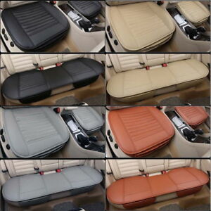 3d Universal Car Seat Cover Auto Chair Cushion Pu Leather Pad Mat For Honda Audi
