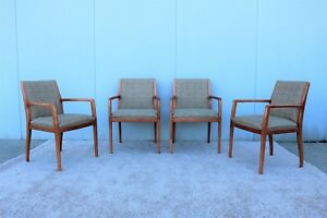 Bernhardt Design Set Of Four Guest Or Dining Arm Chairs High end Quality