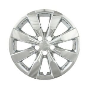 Fits 2014 15 Toyota Corolla 16 Chrome Hubcap Wheel Covers set Of 4