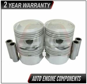 Piston Set Fits Ford Focus Tracer Escort 2 0l Size 020