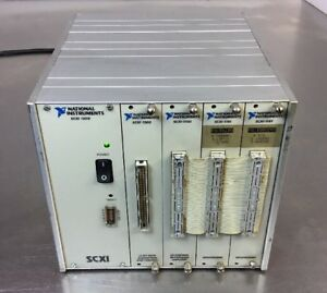 National Instruments 4 Slot Scxi 1000 2 Scxi 1181 Sxi 1200 Sxi 1100 3b
